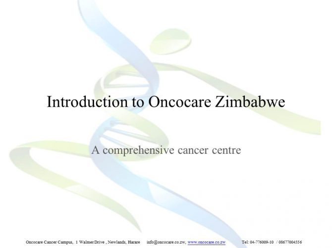 Introduction to Oncocare